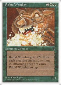 Rabid Wombat, Magic: The Gathering, Chronicles