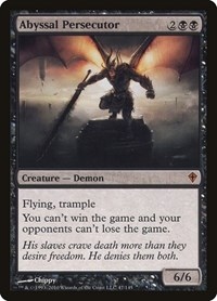 Abyssal Persecutor, Magic: The Gathering, Worldwake