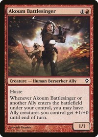 Akoum Battlesinger, Magic, Worldwake