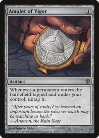 Amulet of Vigor, Magic: The Gathering, Worldwake