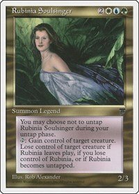 Rubinia Soulsinger, Magic: The Gathering, Chronicles