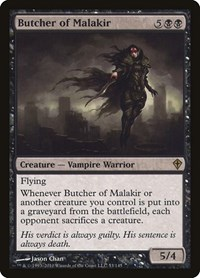 Butcher of Malakir, Magic: The Gathering, Worldwake