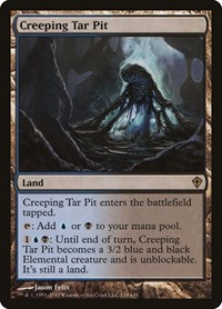 Creeping Tar Pit, Magic, Worldwake