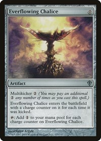 Everflowing Chalice, Magic: The Gathering, Worldwake