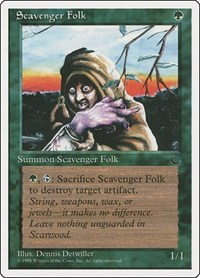 Scavenger Folk, Magic: The Gathering, Chronicles