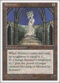 Sentinel, Magic: The Gathering, Chronicles