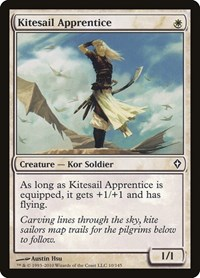 Kitesail Apprentice, Magic, Worldwake