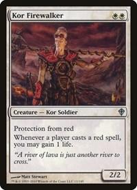 Kor Firewalker, Magic: The Gathering, Worldwake