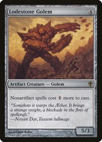 Lodestone Golem, Magic: The Gathering, Worldwake