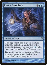 Permafrost Trap, Magic: The Gathering, Worldwake