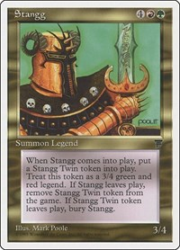 Stangg, Magic: The Gathering, Chronicles