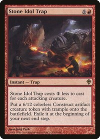 Stone Idol Trap, Magic: The Gathering, Worldwake