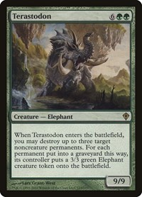 Terastodon, Magic, Worldwake