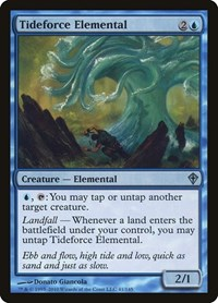 Tideforce Elemental, Magic: The Gathering, Worldwake
