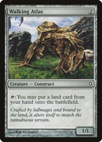 Walking Atlas, Magic: The Gathering, Worldwake