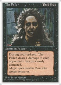 The Fallen, Magic: The Gathering, Chronicles