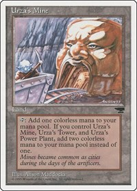 Urza's Mine (Mouth), Magic: The Gathering, Chronicles