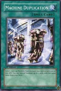 Machine Duplication, YuGiOh, Structure Deck: Machina Mayhem