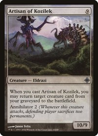 Artisan of Kozilek, Magic: The Gathering, Rise of the Eldrazi