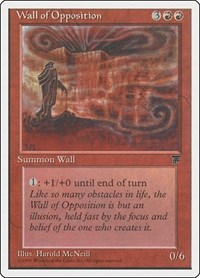 Wall of Opposition, Magic: The Gathering, Chronicles
