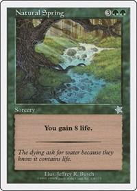 Natural Spring, Magic: The Gathering, Starter 1999