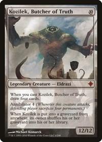 Kozilek, Butcher of Truth, Magic, Rise of the Eldrazi