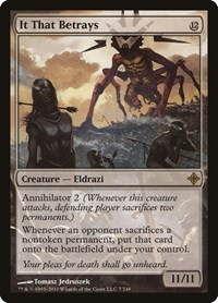 It That Betrays, Magic: The Gathering, Rise of the Eldrazi