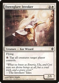 Dawnglare Invoker, Magic: The Gathering, Rise of the Eldrazi