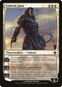 Gideon Jura, Magic: The Gathering, Rise of the Eldrazi