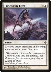 Puncturing Light, Magic: The Gathering, Rise of the Eldrazi