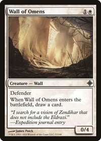 Wall of Omens, Magic: The Gathering, Rise of the Eldrazi