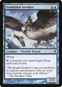 Frostwind Invoker, Magic: The Gathering, Rise of the Eldrazi
