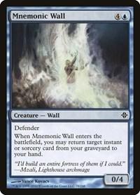 Mnemonic Wall, Magic, Rise of the Eldrazi