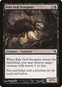 Bala Ged Scorpion, Magic: The Gathering, Rise of the Eldrazi