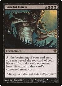 Baneful Omen, Magic: The Gathering, Rise of the Eldrazi