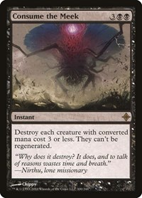 Consume the Meek, Magic: The Gathering, Rise of the Eldrazi