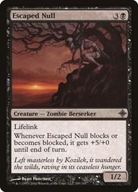 Escaped Null, Magic: The Gathering, Rise of the Eldrazi