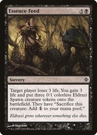 Essence Feed, Magic: The Gathering, Rise of the Eldrazi