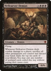 Hellcarver Demon, Magic: The Gathering, Rise of the Eldrazi