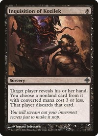 Inquisition of Kozilek, Magic: The Gathering, Rise of the Eldrazi