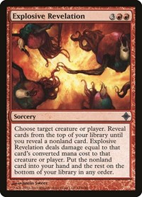 Explosive Revelation, Magic: The Gathering, Rise of the Eldrazi