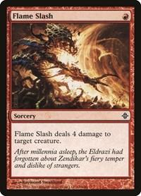 Flame Slash, Magic, Rise of the Eldrazi