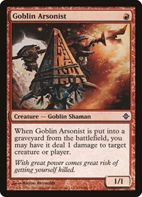 Goblin Arsonist, Magic: The Gathering, Rise of the Eldrazi