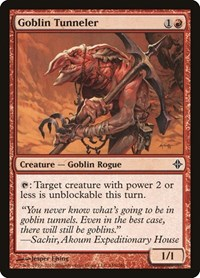 Goblin Tunneler, Magic, Rise of the Eldrazi