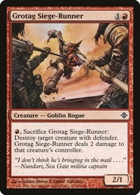Grotag Siege-Runner, Magic: The Gathering, Rise of the Eldrazi