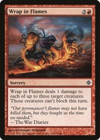 Wrap in Flames, Magic: The Gathering, Rise of the Eldrazi