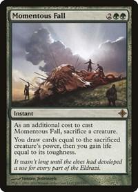Momentous Fall, Magic, Rise of the Eldrazi