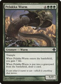 Pelakka Wurm, Magic: The Gathering, Rise of the Eldrazi