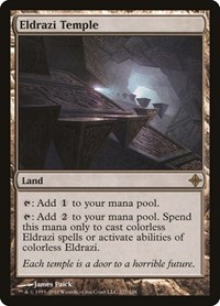 Eldrazi Temple, Magic: The Gathering, Rise of the Eldrazi