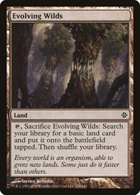 Evolving Wilds, Magic: The Gathering, Rise of the Eldrazi